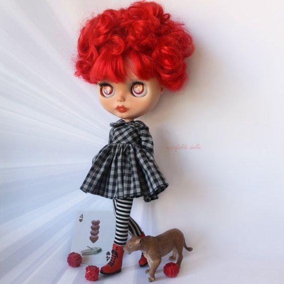 OOAK Custom Art Blythe Doll by by Rainfable