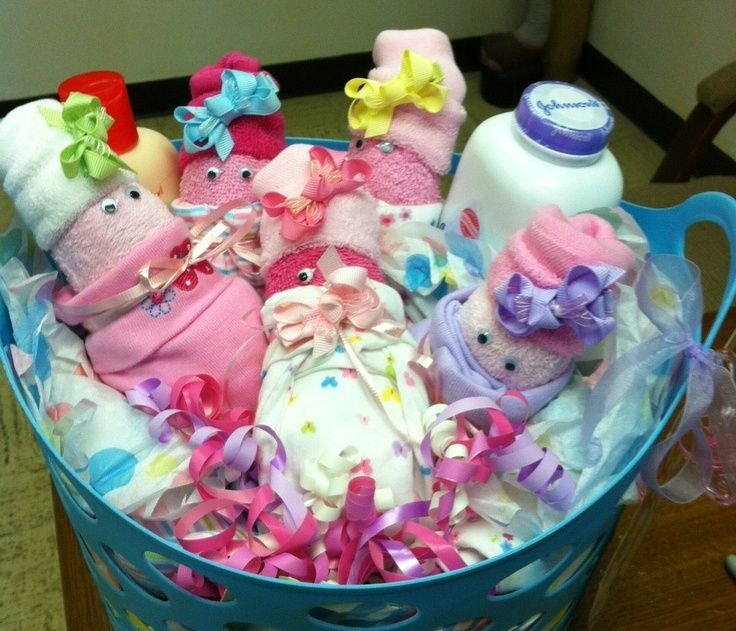 Crafty Packaging Easy Baby Shower Gift Baby Shower Gift Basket Baby Shower Gifts