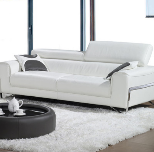 6 White Leather Sofas For Every Modern Living Room Cute Furniture White Leather Sofas Modern Leather Sofa Modern White Leather Sofa
