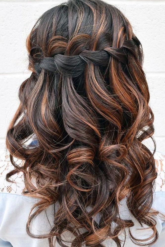 33 Stylish Wedding Hairstyles With Hair Down | Wedding Forward