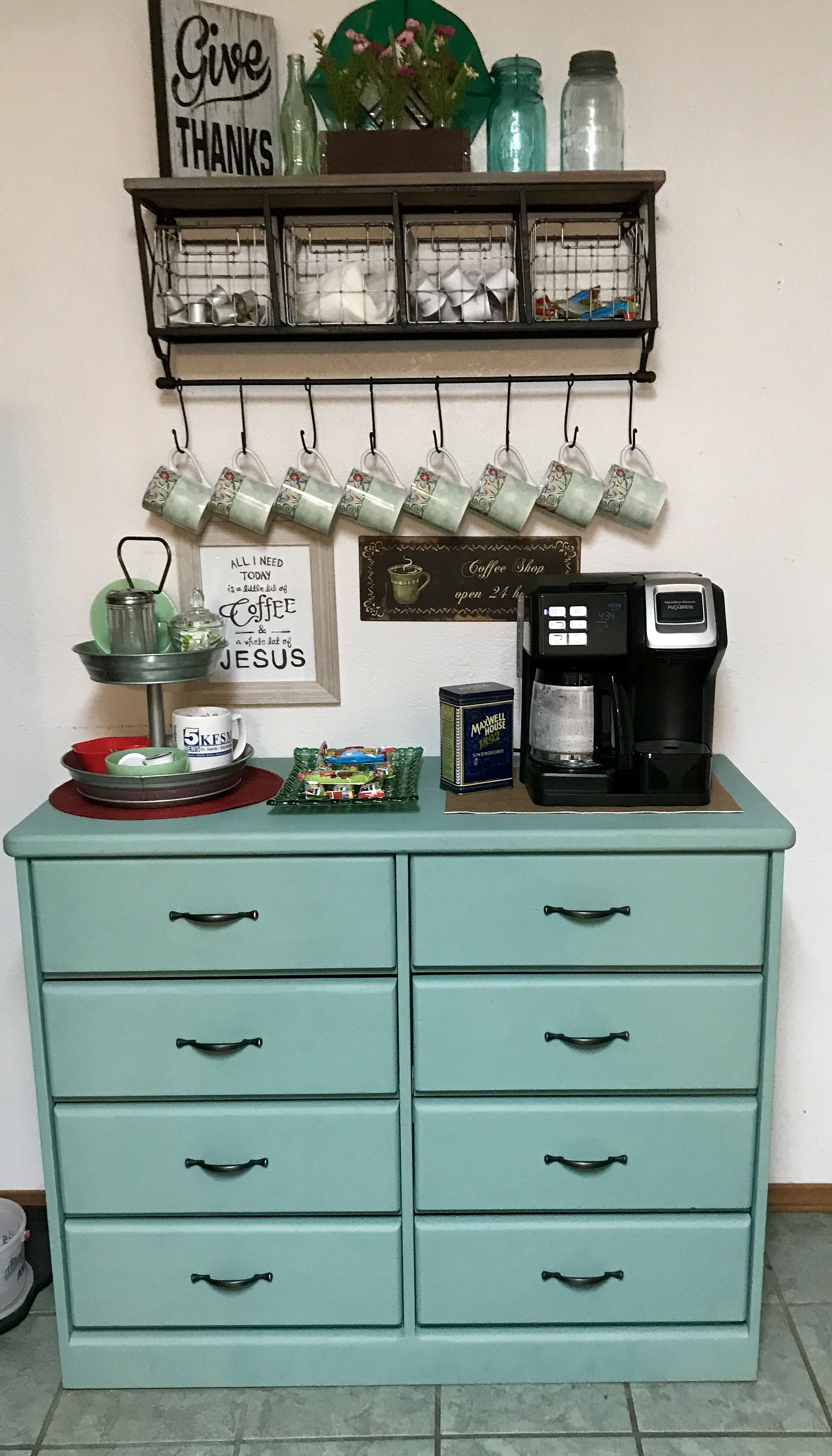 My coffee bar THERE S NO PLACE LIKE HOME Pinterest