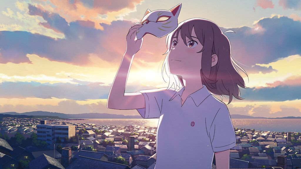 A Whisker Away Review A Pleasing And Fanciful Imagination About Despair And Love Rating Social News Xyz In 2020 Anime Films Anime Anime Wallpaper