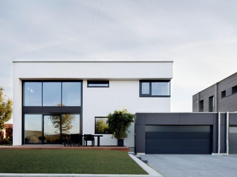 baufritz modernes fertighaus von baufritz haus nilles fa ades pinterest moderne. Black Bedroom Furniture Sets. Home Design Ideas