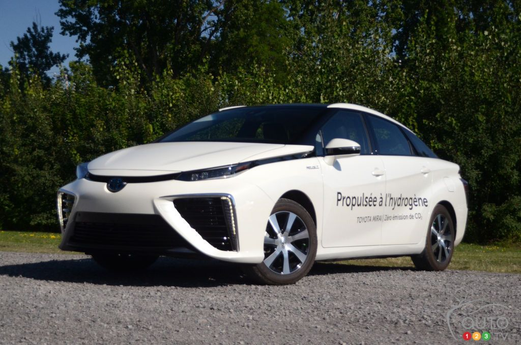2019 Toyota Mirai review Toyota, Car, Fuel cell cars