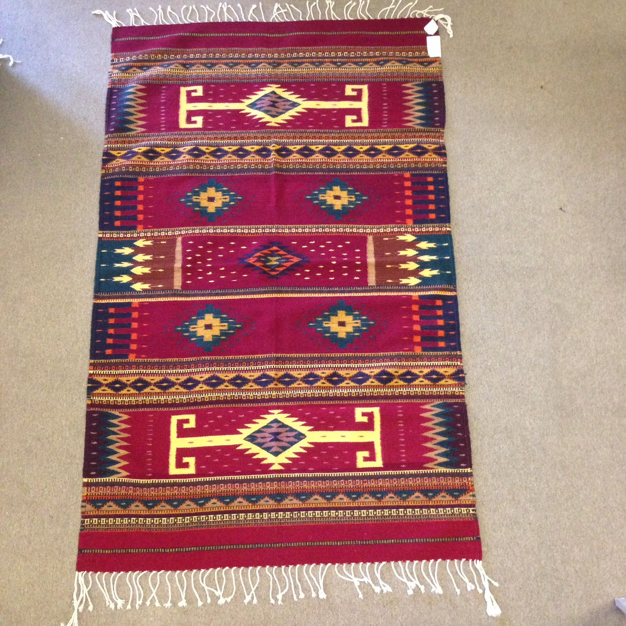 This Rug Is Available At The Zapotec Gallery At Www