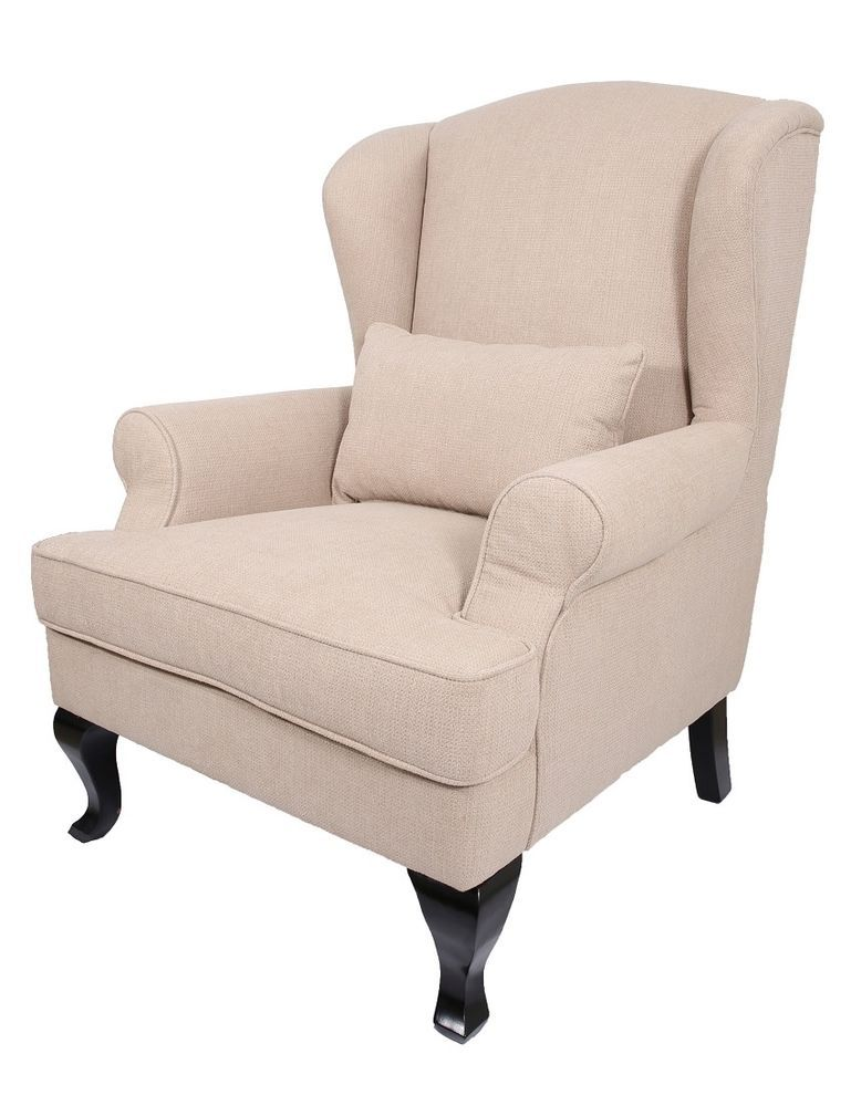 Prime Knightsbridge Orthopaedic High Back Chair Winged Armchair Onthecornerstone Fun Painted Chair Ideas Images Onthecornerstoneorg