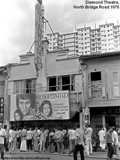 Diamond Theatre At North Bridge Road 1976 Singapore In