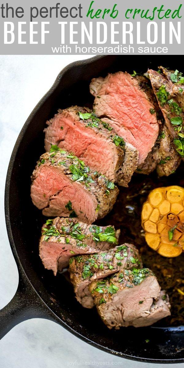 Easy Herb Crusted Beef Tenderloin Roast | How to Cook