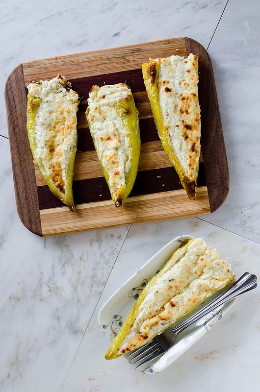 Cheesy Stuffed Banana Peppers Gluten Free Stuffed Banana Peppers Stuffed Peppers Recipes With Banana Peppers