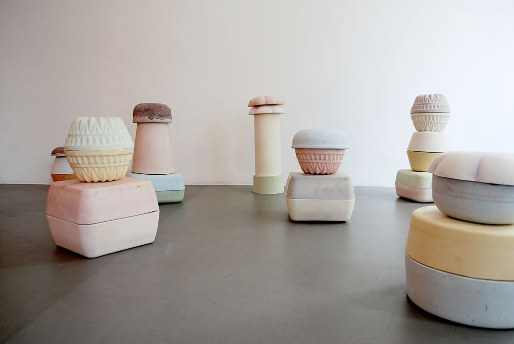 Clare Kenny- these are concrete objects 240 cm high