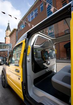 Ford Transit Connect Taxi Concept Ford Transit Ford Concept Cars