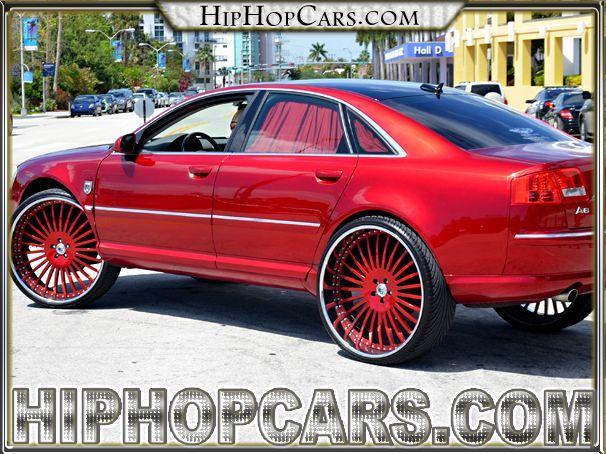 Audi A8 2 Inch Asanti Custom Wheels Hot Car Slick Candy