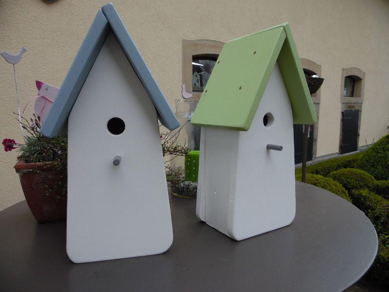 nistk sten vogelh user wundersch nes vogelhaus zum selbst bemalen ein designerst ck von. Black Bedroom Furniture Sets. Home Design Ideas