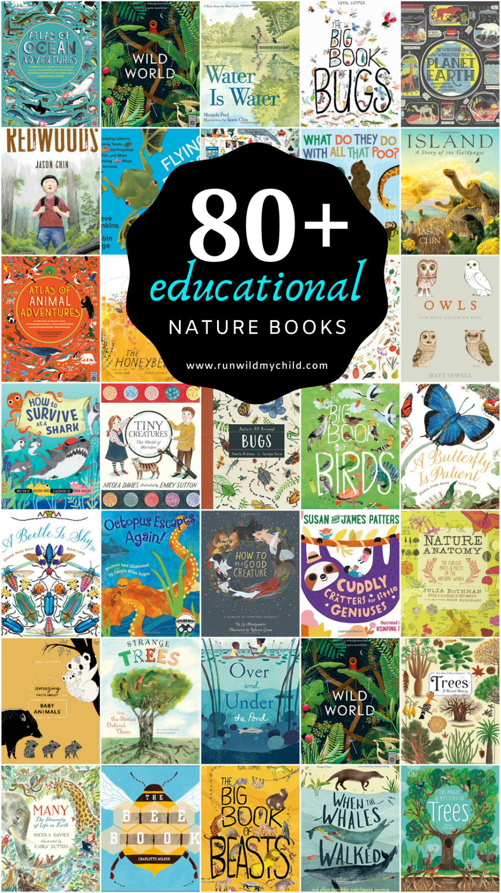 Best Educational Nature Books For Kids Run Wild My Child Educational Books Nature Kids Kids Reading