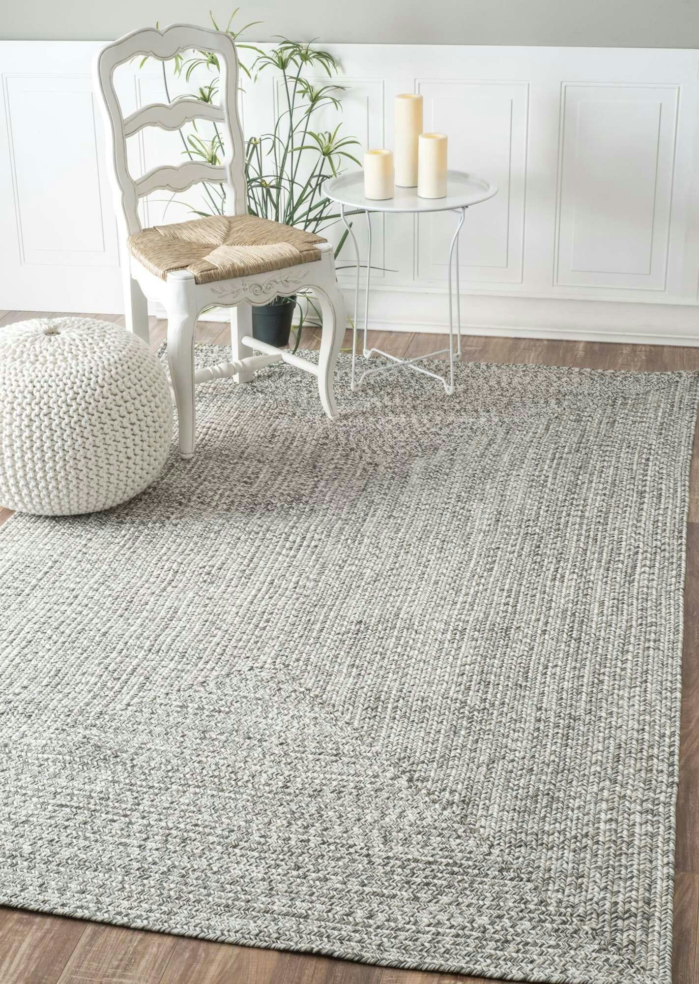 Jubilee Braided FV01 Rug USA Rugs Grey Living RoomsLiving Room