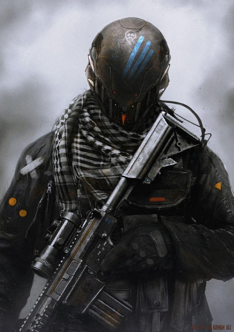 DeadShot by Adnan Ali   Sci-Fi   Futuristic armour ...