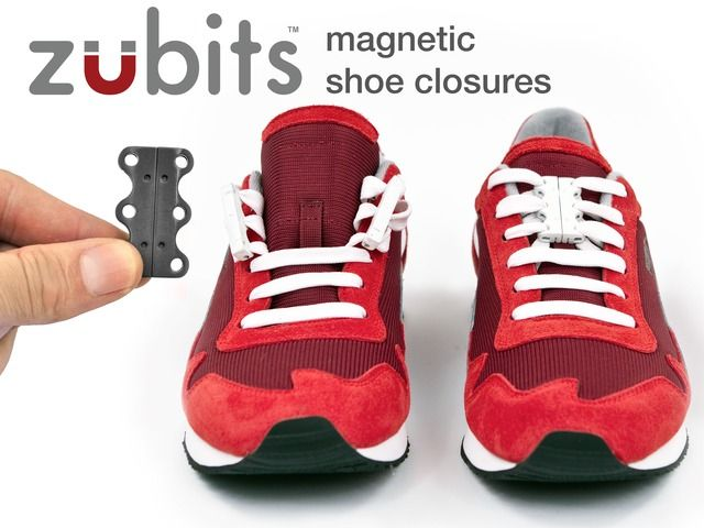 Never Ties Shoelaces Again With Zubits Magnetic Shoe Closures - OhGizmo!