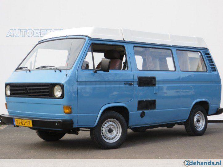 Volkswagen T3 1.6 luchtgekoeld Westflia Camper/ 4 persoons - Te koop ...