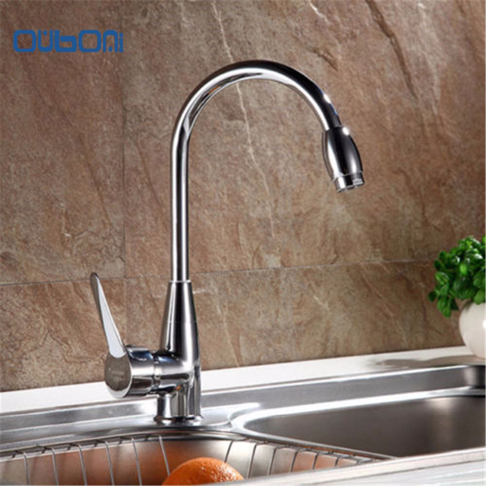 New Arrival Good Quality Solid Brass Kitchen Mixer Cold&Hot Kitchen ...