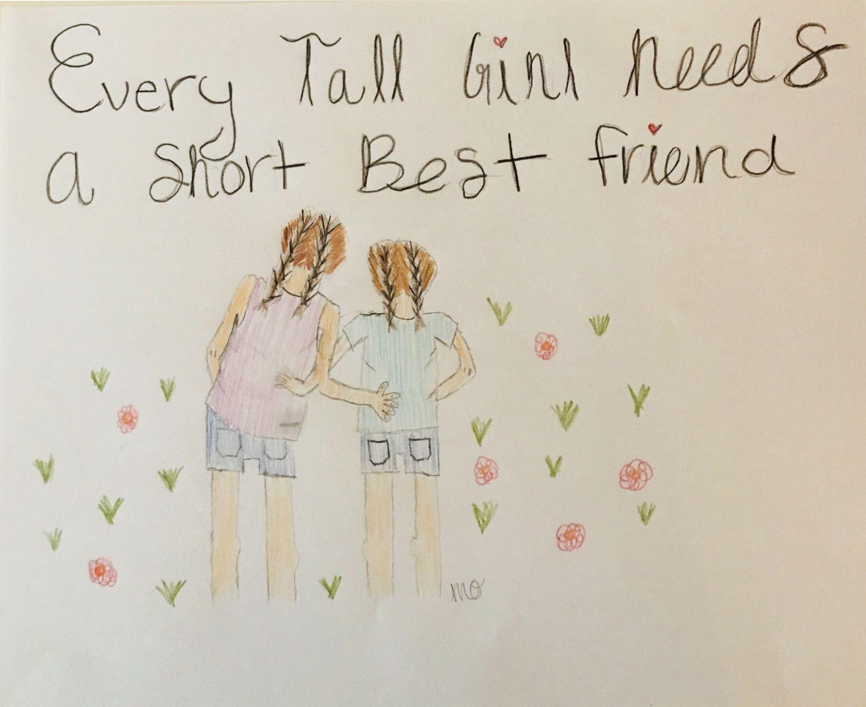 Pin By Bree On Crafty Best Friend Drawings Drawings Of Friends