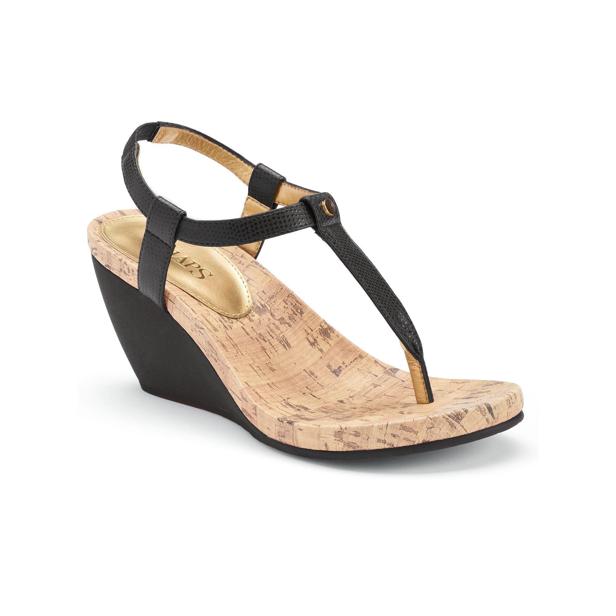 feaec554d154 Chaps Raevyn Women s Slip-On Wedge Sandals