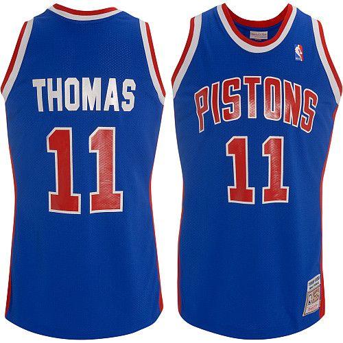 huge selection of 3662e 05b34 Mitchell & Ness Detroit Pistons Isiah Thomas 1988-89 ...