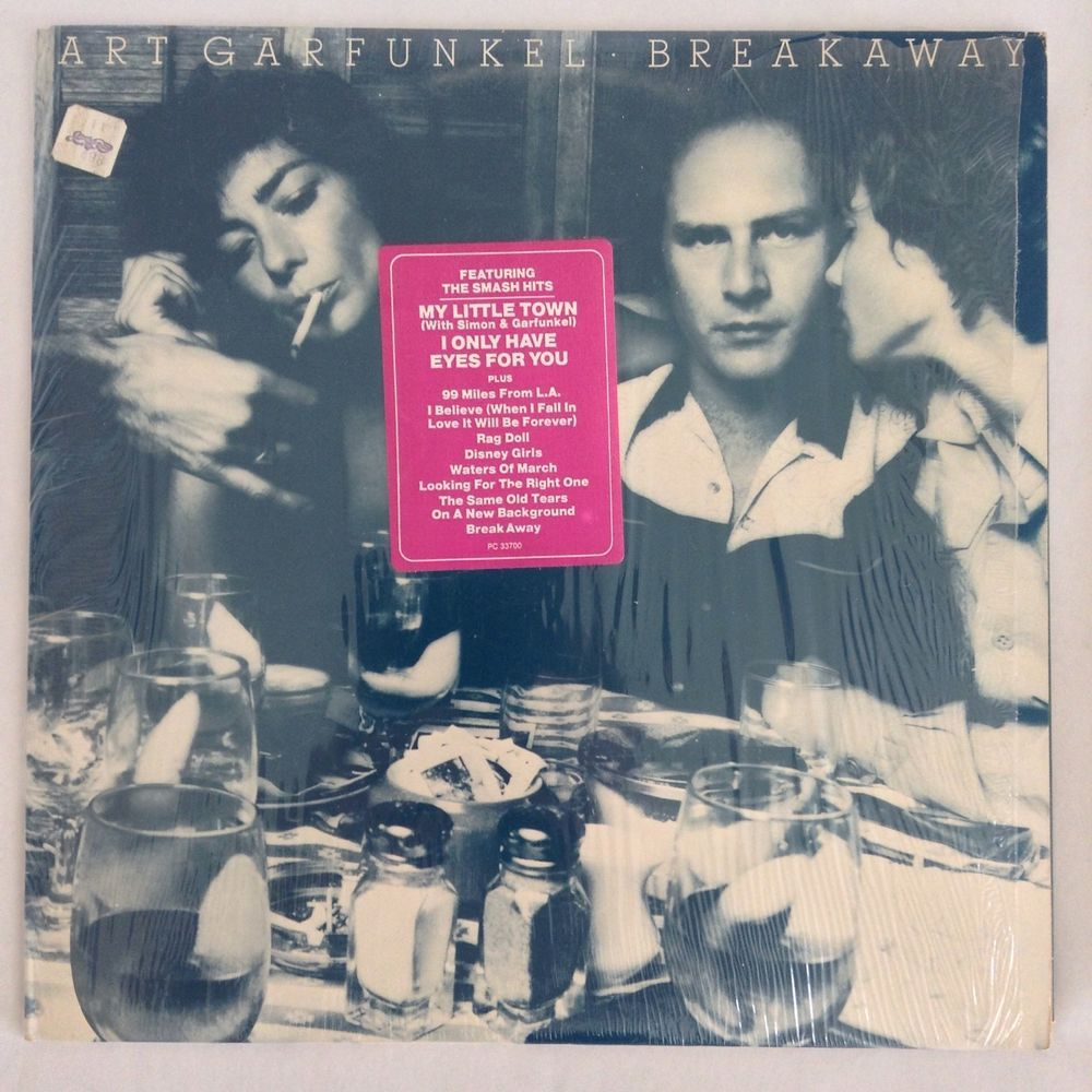 99 Miles From La Art Garfunkel break away art garfunkel 1975 columbia ex/vg+ pc 33700