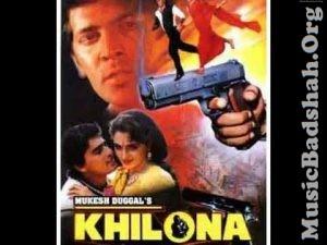 Khilona 1996 Bollywood Hindi Movie Mp3 Songs Download Mp3 Song Hindi Movies Mp3 Song Download