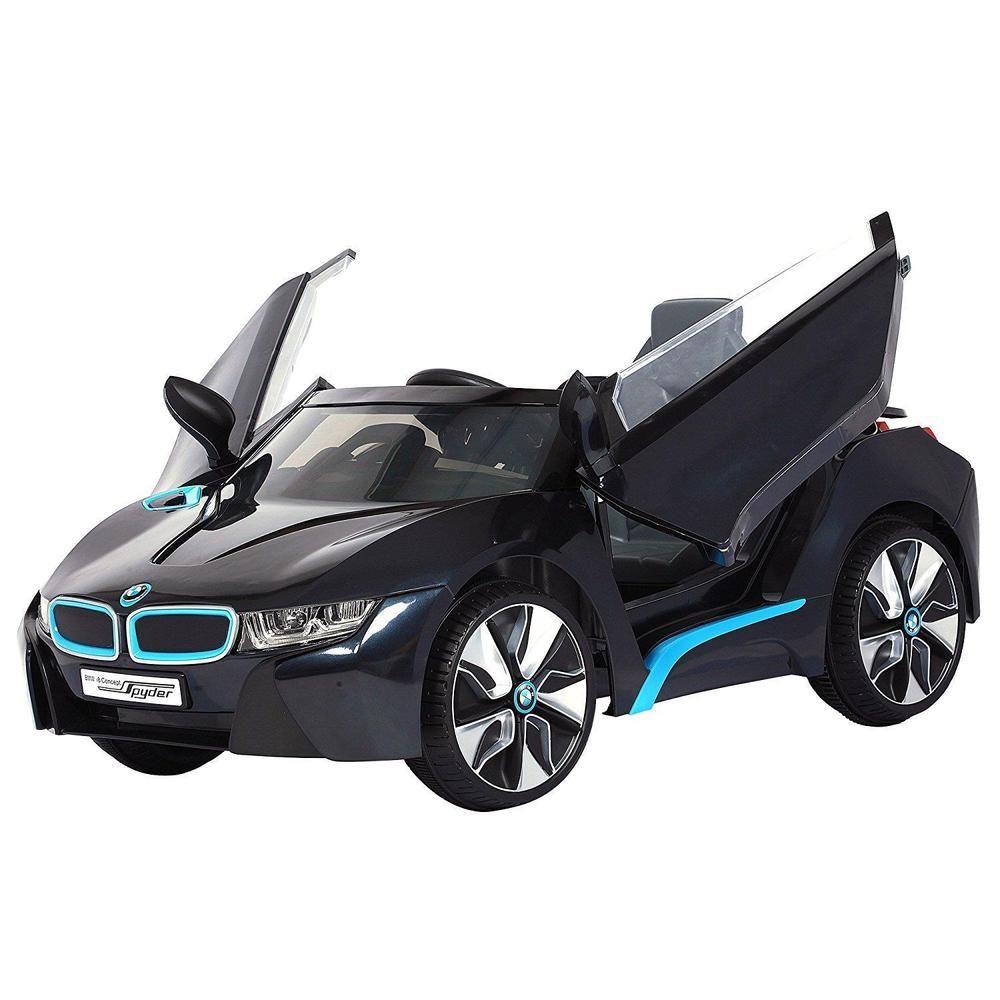 Toys car battery  BMW RideOn Rollplay I Volt BatteryPowered Black Mini Car Toys