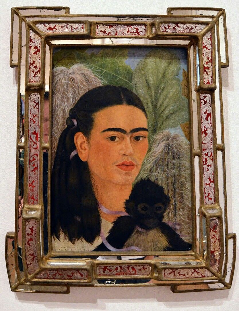 Frida Kahlo In Moma Nyc Art Travels Museum Of Modern