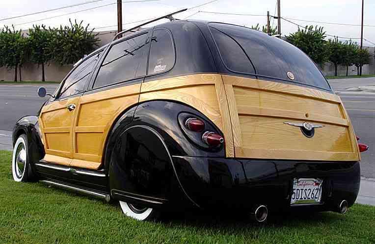 Real Wood Woody Cruiser Car Chrysler Pt Cruiser Chrysler Cars
