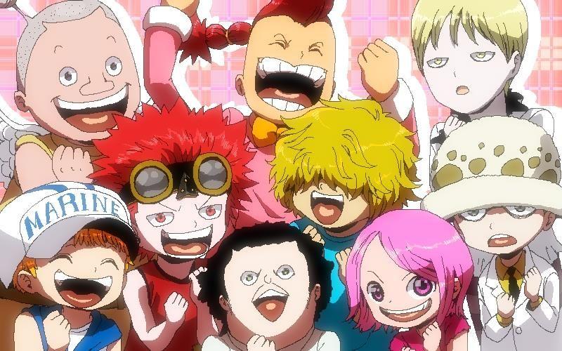 Bambini Manga ~ Baby supernovas o one piece the only manga that catch my