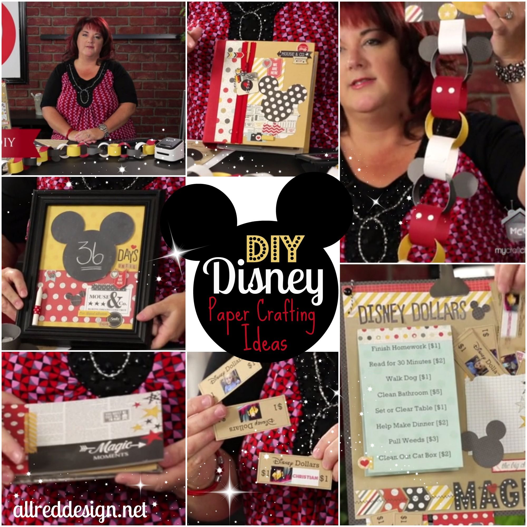 Ideas for creating disney dollars countdowns autograph for Ideas for mini vacations