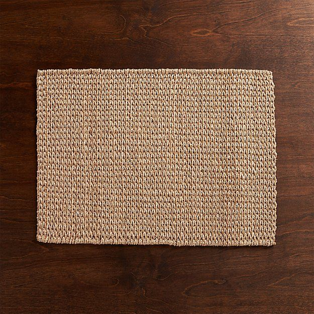 Lanai Placemat Reviews Crate And Barrel Neutral Placemats