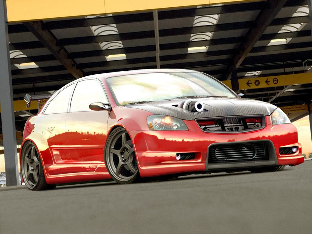 Nissan Altima - normally Nissan tuners go for the 350z, but ...