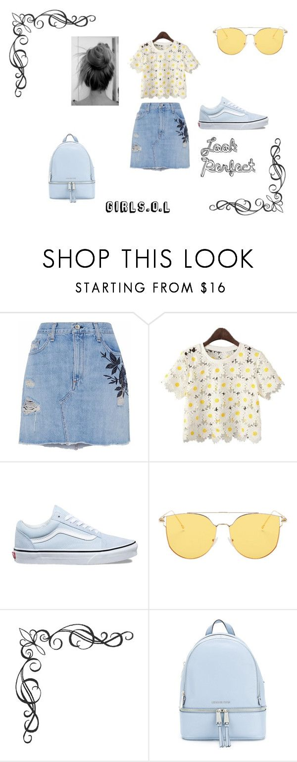 """Sin título #14"" by lalu-bartezaghi on Polyvore featuring moda, rag & bone/JEAN, Vans y MICHAEL Michael Kors"
