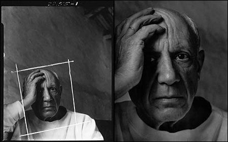 Pablo Picasso By Arnold Newman Cropping Photography Photo