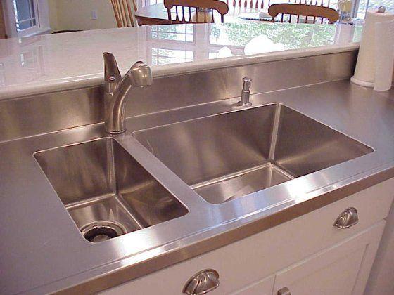 Undermount Sink · Stainless Steel CountertopsStainless ...