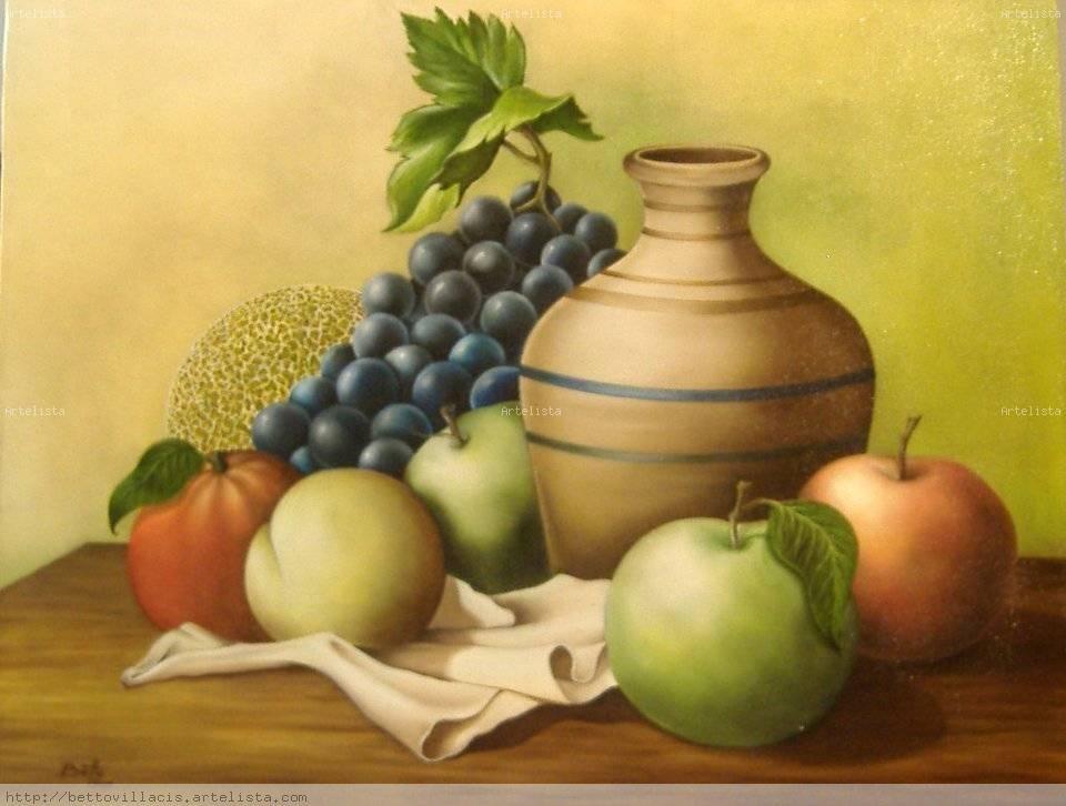 Resultado De Imagen Para Bodegones De Frutas Y Jarrones Bodegon