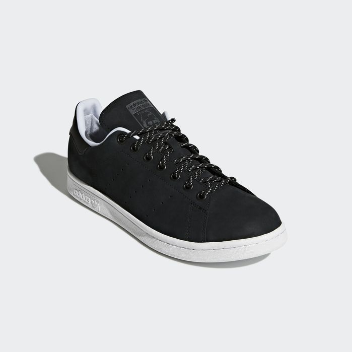 best service ed2f9 07c66 Stan Smith WP Shoes Core Black 7 Mens | Products | Shoes ...