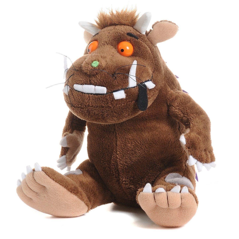 Der Grüffelo, eine der beliebtesten Kinderbuchfiguren in der Altersgruppe ab gut 2 Jahren. Gibt es als Buch, Stofftier und sogar als Film auf DVD.