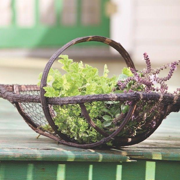 Perfect Wire Baskets   Decorative Metal Baskets   Wire Garden Basket   Basket With  Handles