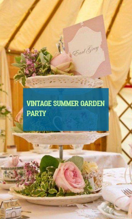 vintage summer garden party