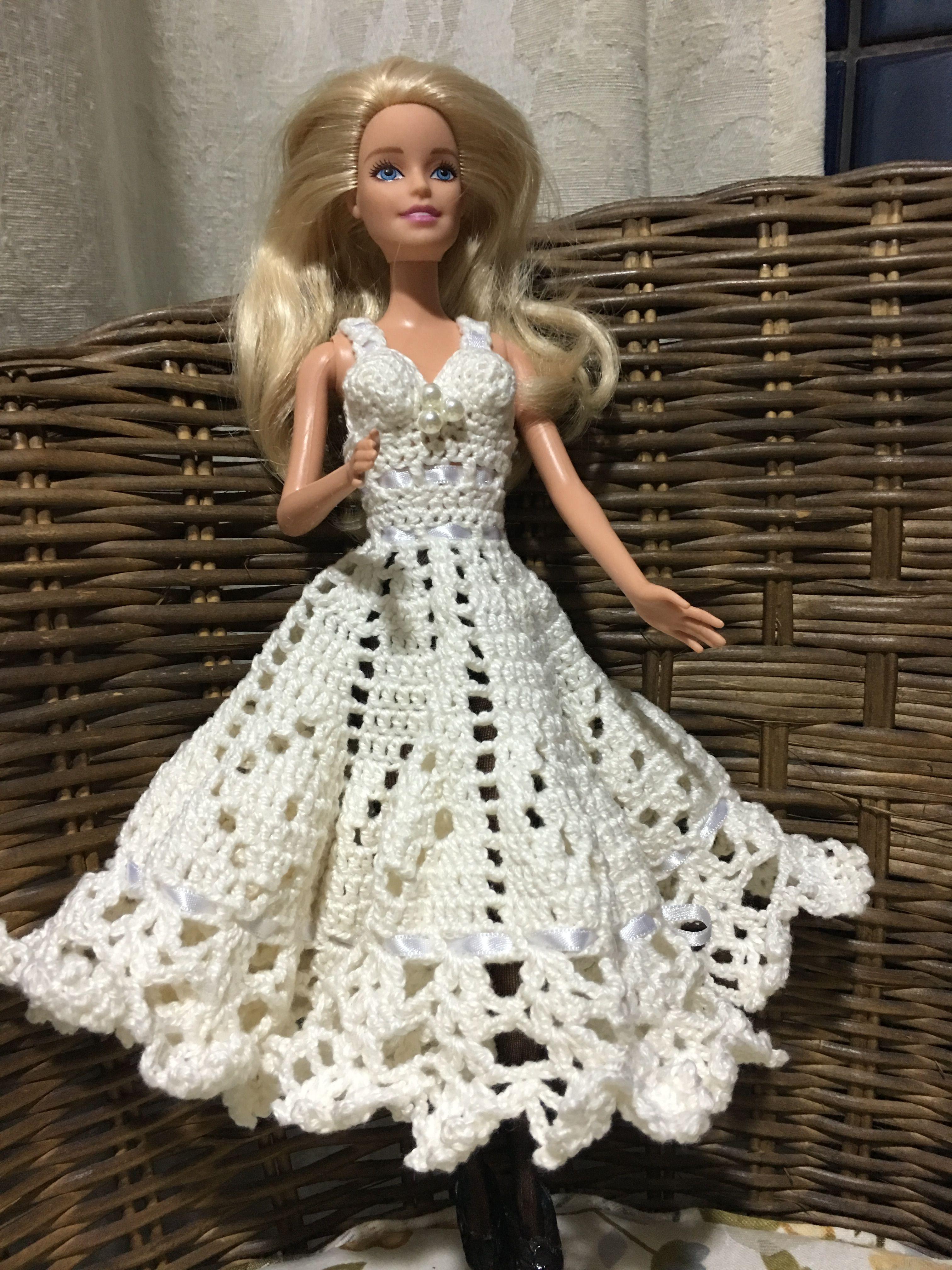 Pin von Bonnie Parsons auf Crochet Toys Barbie Clothes   Pinterest ...