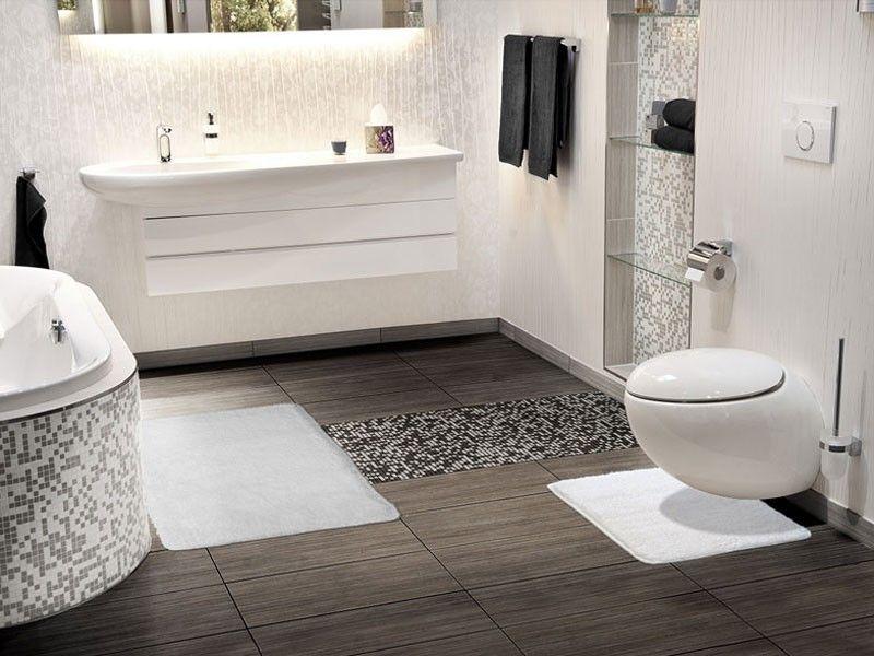 wwwfloordirektde Badezimmer Pinterest Badezimmer - badezimmer weiß grau