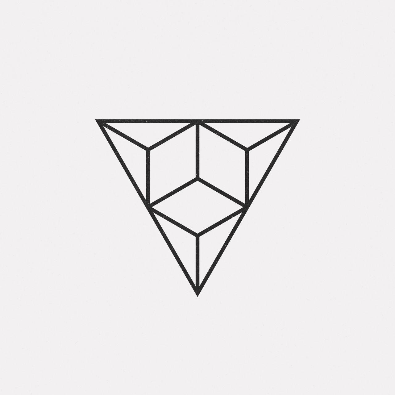 new geometric design every day triangles minimal also best designs images desenhos cranios pinturas rh br pinterest