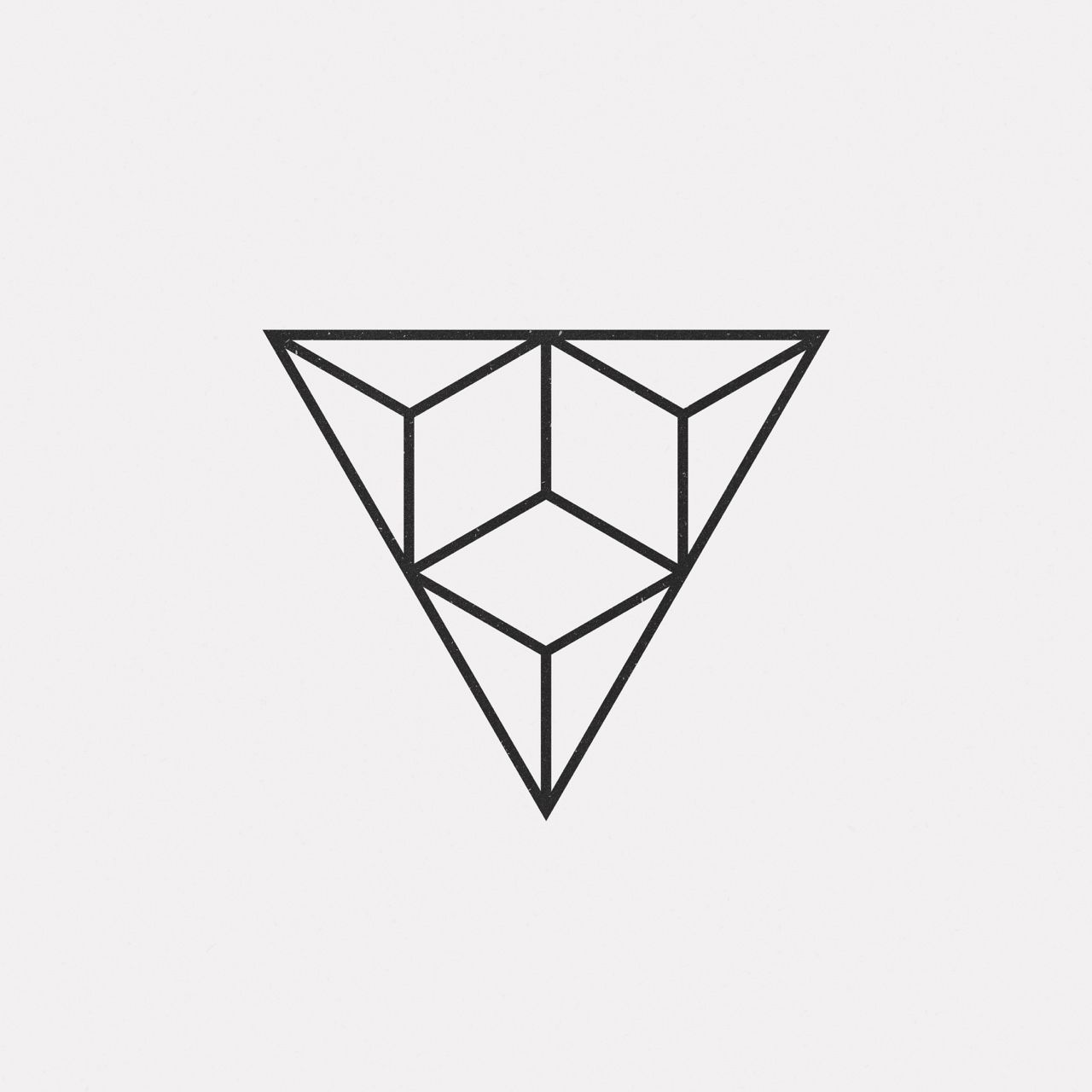 a new geometric design every day triangles minimal graphics