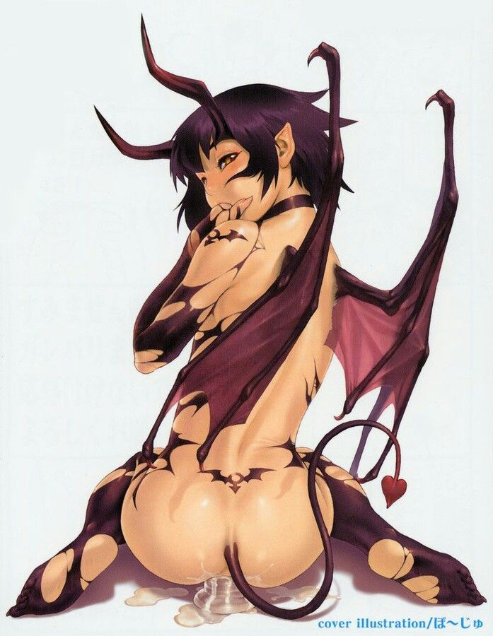 hentai demon anal - Anime Hentai Devil Girl Succubus.
