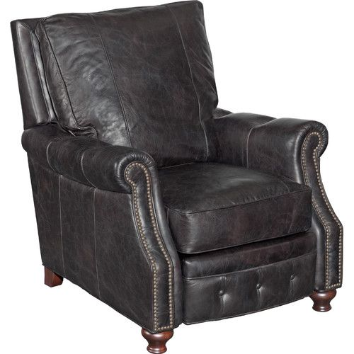 Superb Gunning Leather Manual Recliner Leather Reclincers Machost Co Dining Chair Design Ideas Machostcouk