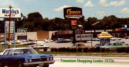 Timonium Shopping Center 1970s Old Businesses Timonium Fairlanes Survives As Amf Murphy S Mart Lums Fotoma Baltimore Maryland Baltimore County Hometown